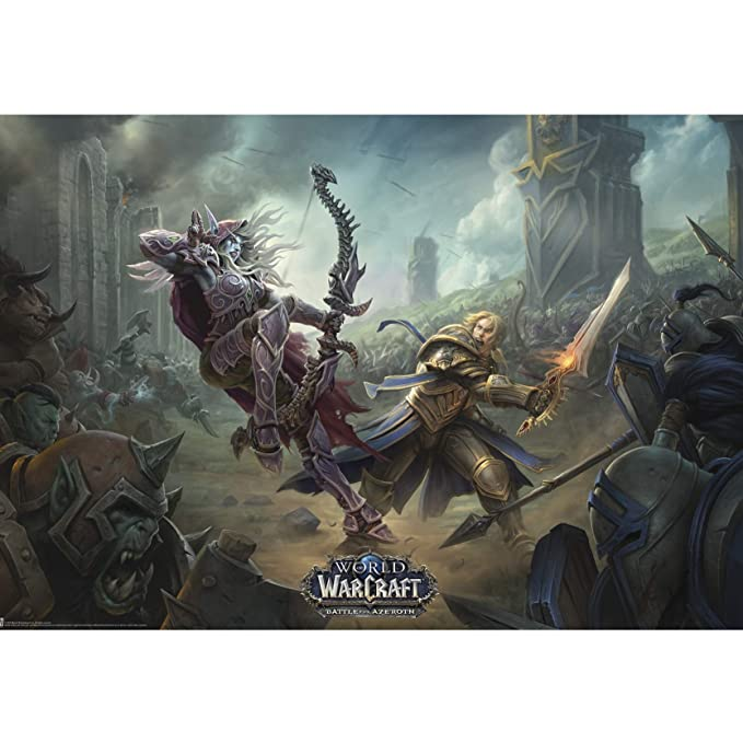 A1/–841/x 594/mm World of Warcraft Wrath Of The Lich King Poster