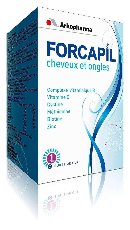 Amazon.com : Arkopharma Forcapil Cheveux et Ongles 60 ...