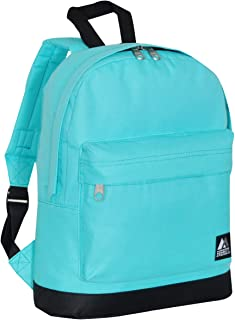 Everest, Sac à Dos Enfant Mixte Adulte, Bleu Eau (Bleu) - 10452-AQ/BK Sac à Dos Enfant Mixte Adulte Everest Luggage -Child Vendor Code