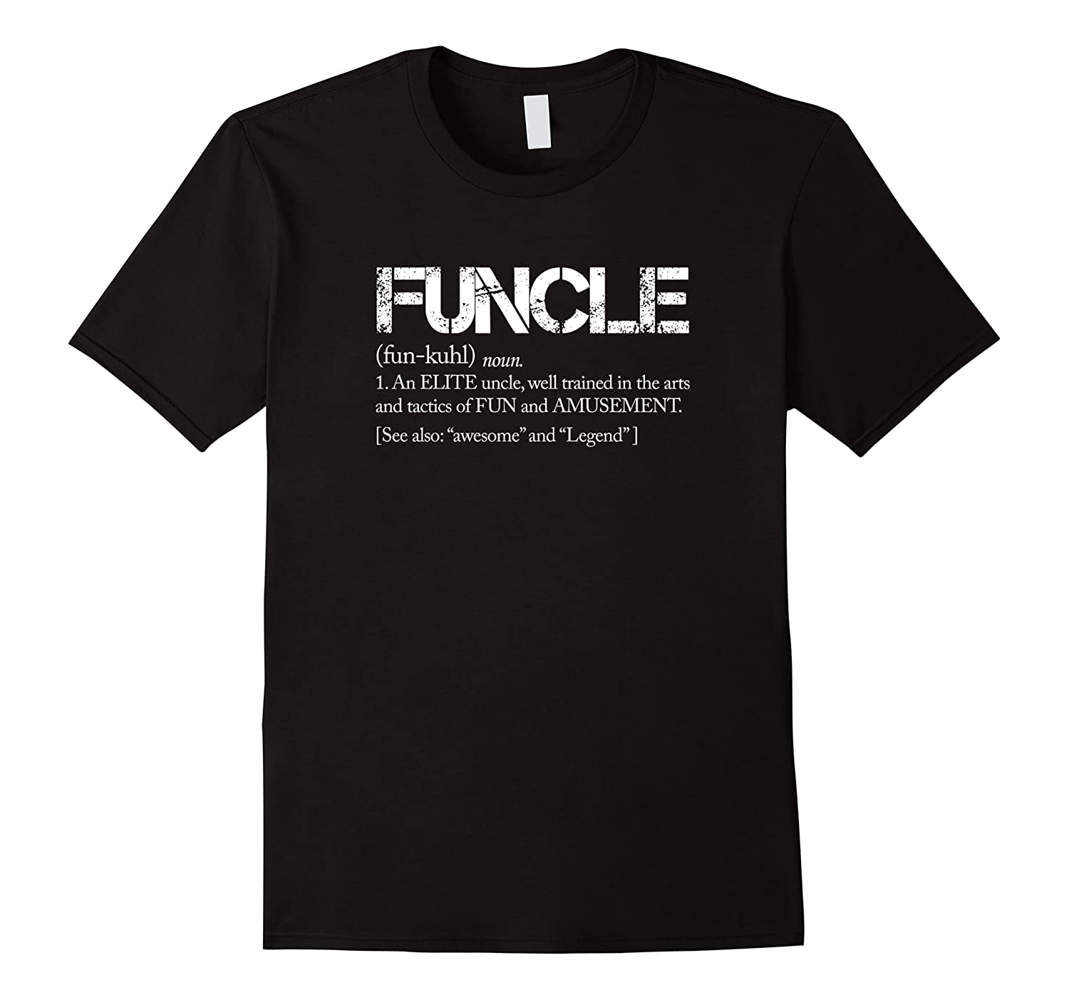 Mens Funcle Uncle Definition For Military Veterans Tshirt