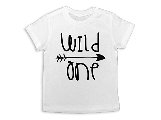 Wild First Birthday Shirt One Party 12 Months