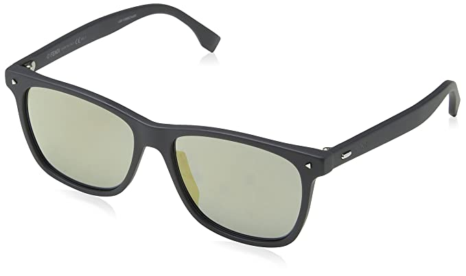 600b1f390b Fendi FF M0002/S JO KB7 55 Gafas de sol, Gris Grey, Hombre: Amazon.es: Ropa  y accesorios