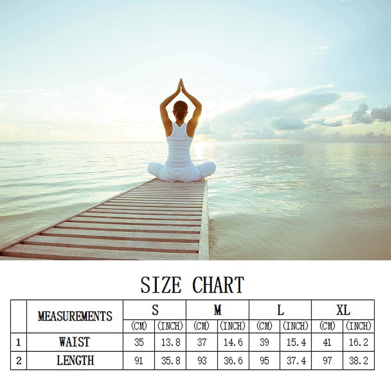 Ennieee Womens Yoga Pants Graffiti Elastic Workout Running Leggings Pants