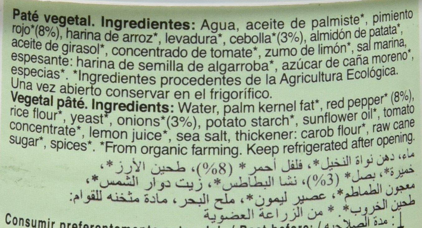 NATURGREEN PATE VEGETAL 125 gr: Amazon.es: Alimentación y bebidas