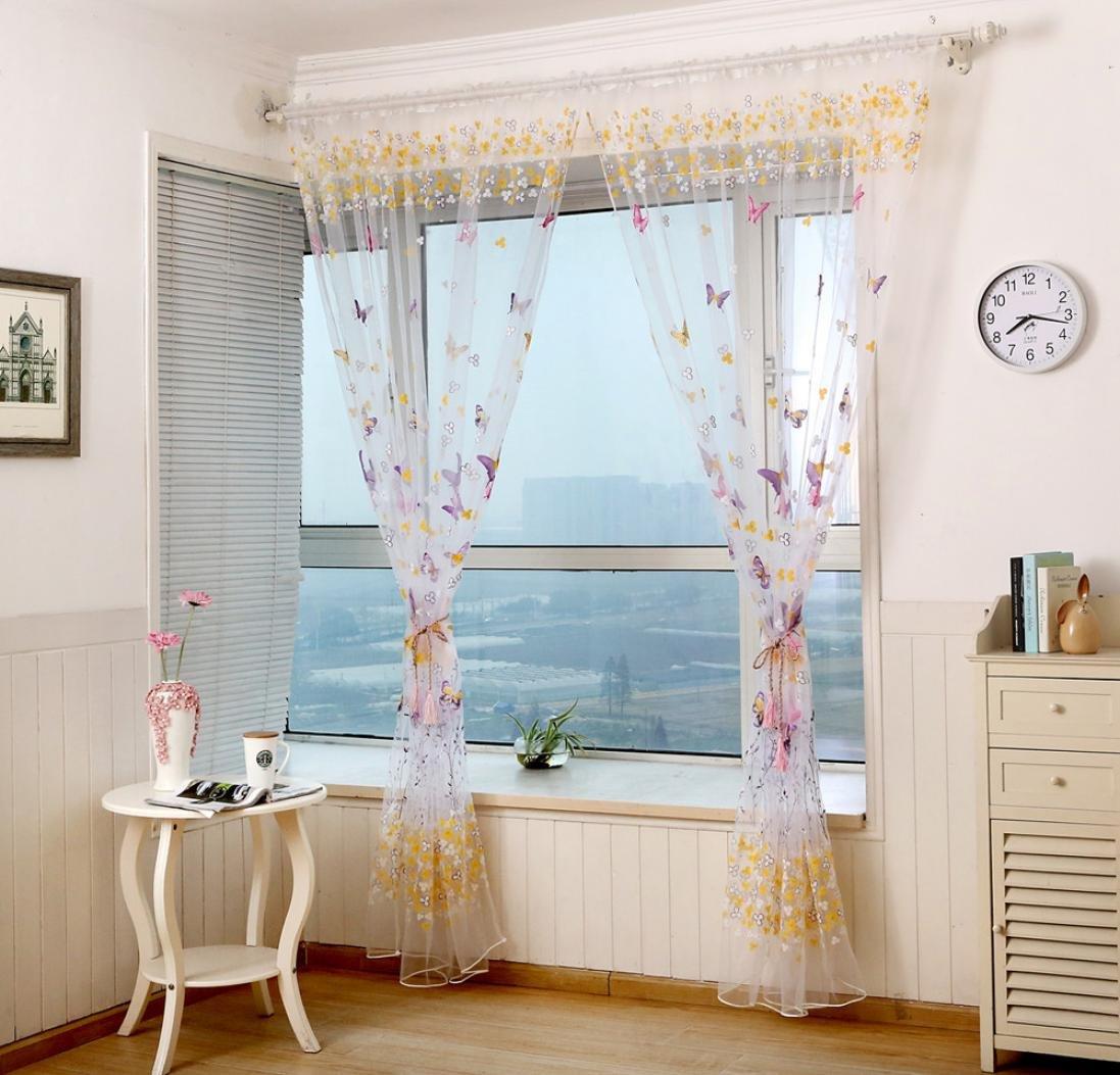 Casa e cucina Tende classiche e drappeggi Bovake Farfalla ...