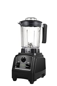 Cleanblend ULTRA: A Low Profile Countertop Blender With A BPA Free 40 oz. Container, A Stainless Steel 8 Blade System and stainless steel drivetrain. Great for smoothies, nut butters and mixing