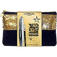 L'Oréal Paris Pochette Idea Regalo Natale 2 Pezzi, Mascara Volumizzante Ciglie Finte Farfalla e Matita Occhi Formato Viaggio Superliner Le Khol