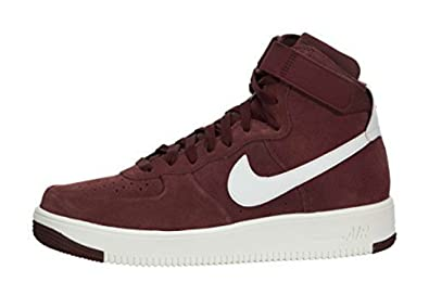 Nike Air Force 1 Ultraforce Alto Hombres Dark Rojo Team Rojo Dark c85ca3