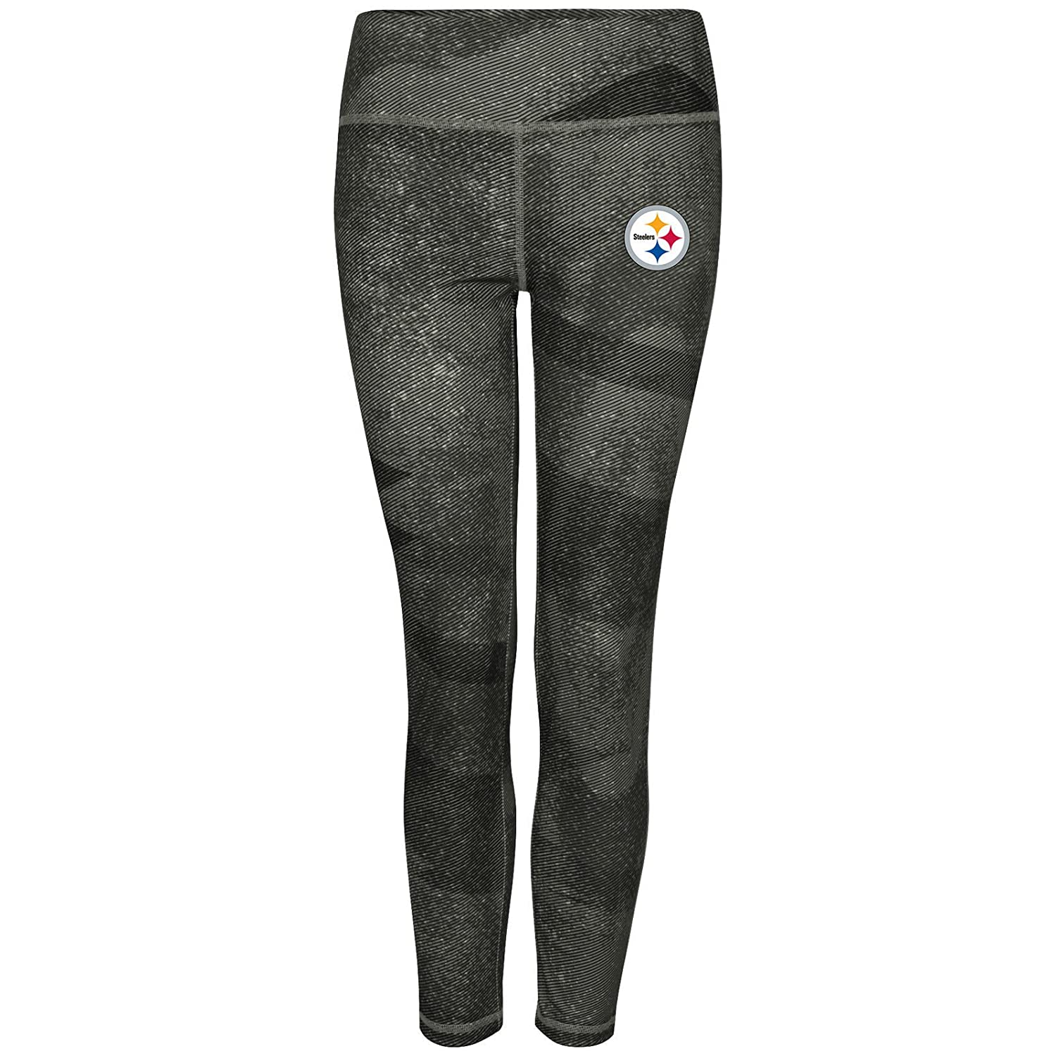 Pittsburgh Steelers Women 's Majestic NFLダイナミックeffort」レギンスヨガパンツ   B01DF7B2E2