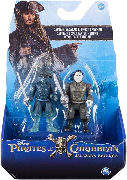 Bizak Piratas del Caribe - Pack 2 Figuras de Lesaro y Salazar ...