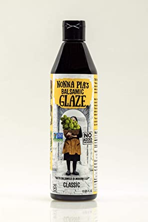 Amazon Com Nonna Pia S Classic Balsamic Glaze 12 85 Ounce Grocery Gourmet Food