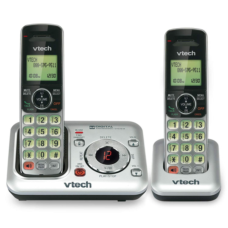 Amazon.com: Teléfono inalámbrico DECT 6.0 ...