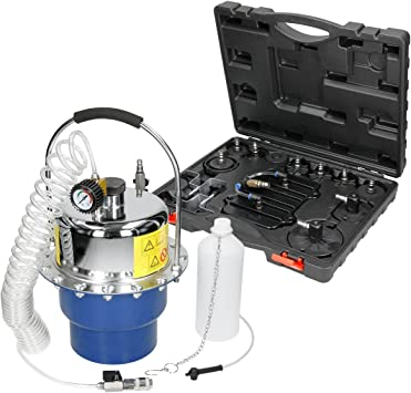 Automobile Pneumatic Brake Bleeding Air Pressure Bleeder Set Garage Oil Changing