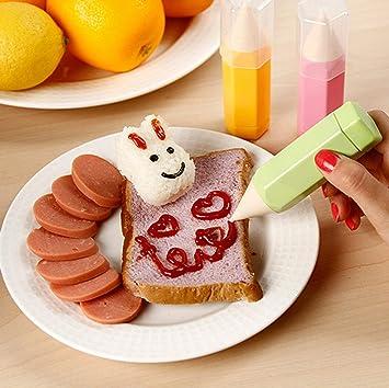 Bolígrafo para decoración de pasteles, bolígrafo de glaseado, boquilla para fondant, kit de