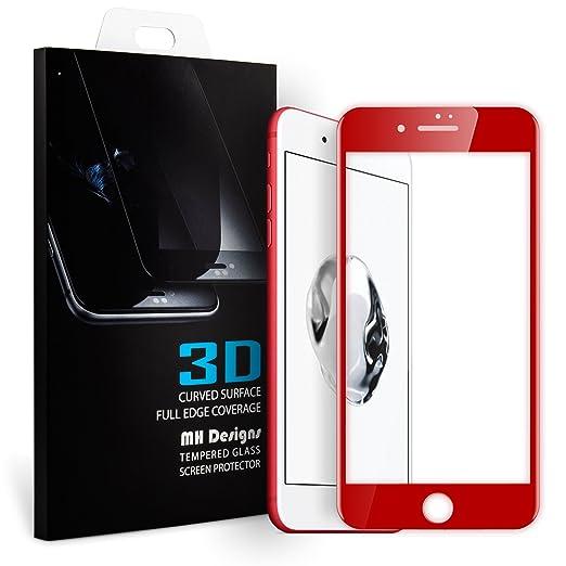 73 opinioni per iPhone 7 Plus Pellicole protettive, MH Designs® 3D Curva Copertura Completa 9H