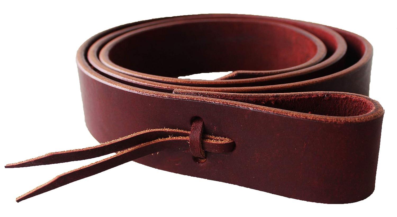 CHALLENGER Horse 57 Western Premium Heavy Duty Latigo Saddle Tie Strap w//Holes 404RT02