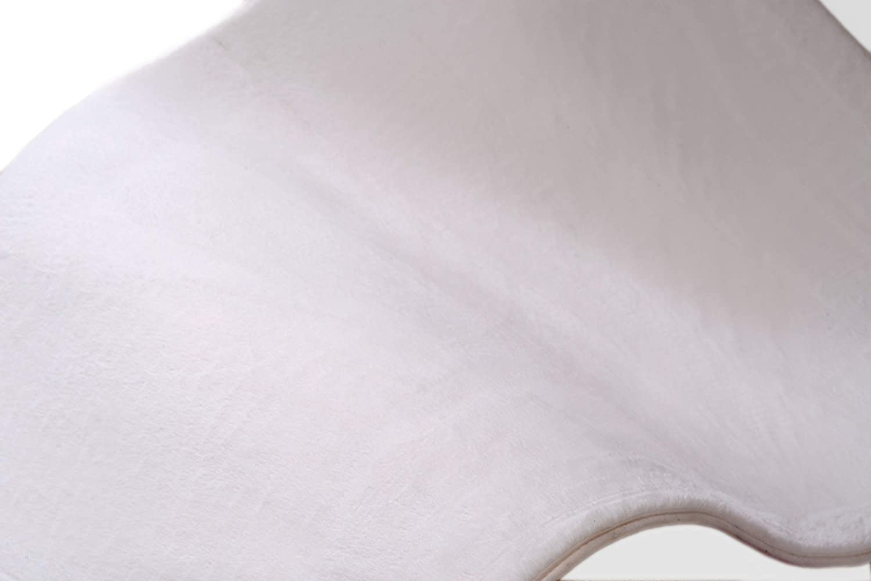 Fabelia Weicher Kuschelteppich Soft Shaggy Bunny Bunny Bunny (Weiß, 120 x 180 cm) d59b0b