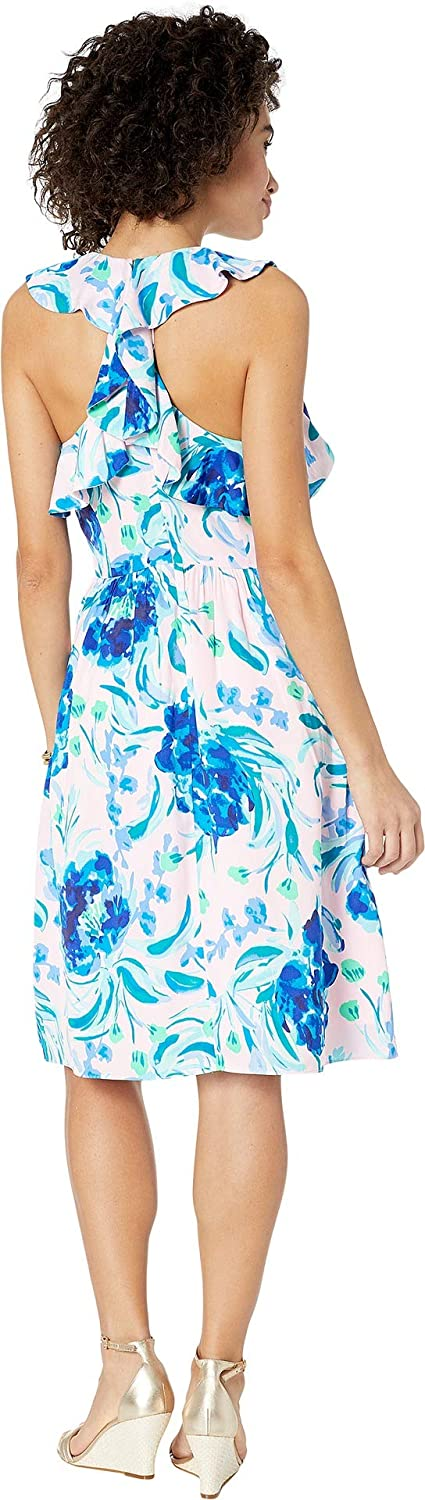 45804672909210 Lilly Pulitzer Women's Rory Dress Pink Tropics Tint Sweet Pea 0 at Amazon  Women's Clothing store: