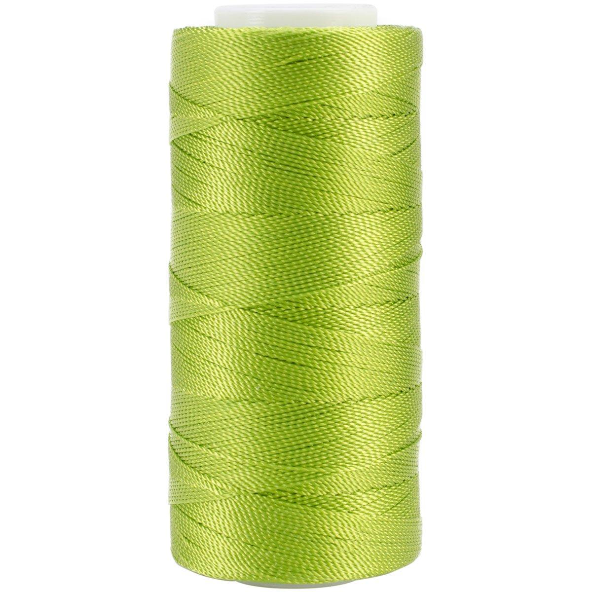 Iris 2-471 Nylon Crochet Thread, 300-Yard, Lime