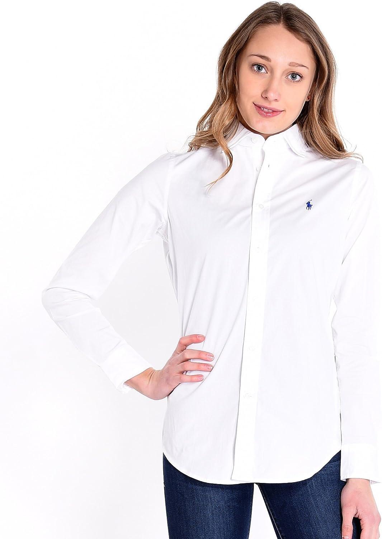 Polo Ralph Lauren V33Ig270Bg207, Blusa Para Mujer, Blanco (White ...