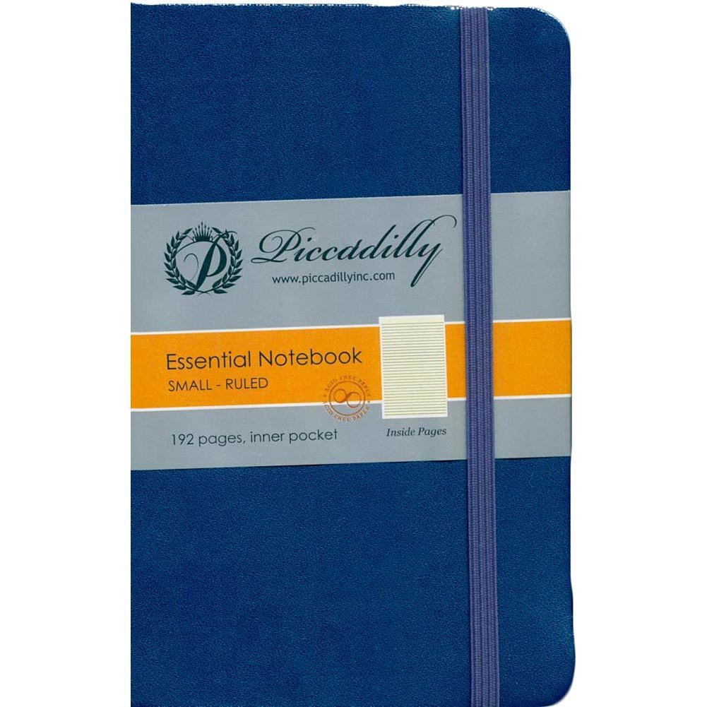 Blue Essential Notebook-(Ruled/Hardcover): 9781608637935: Amazon.com ...