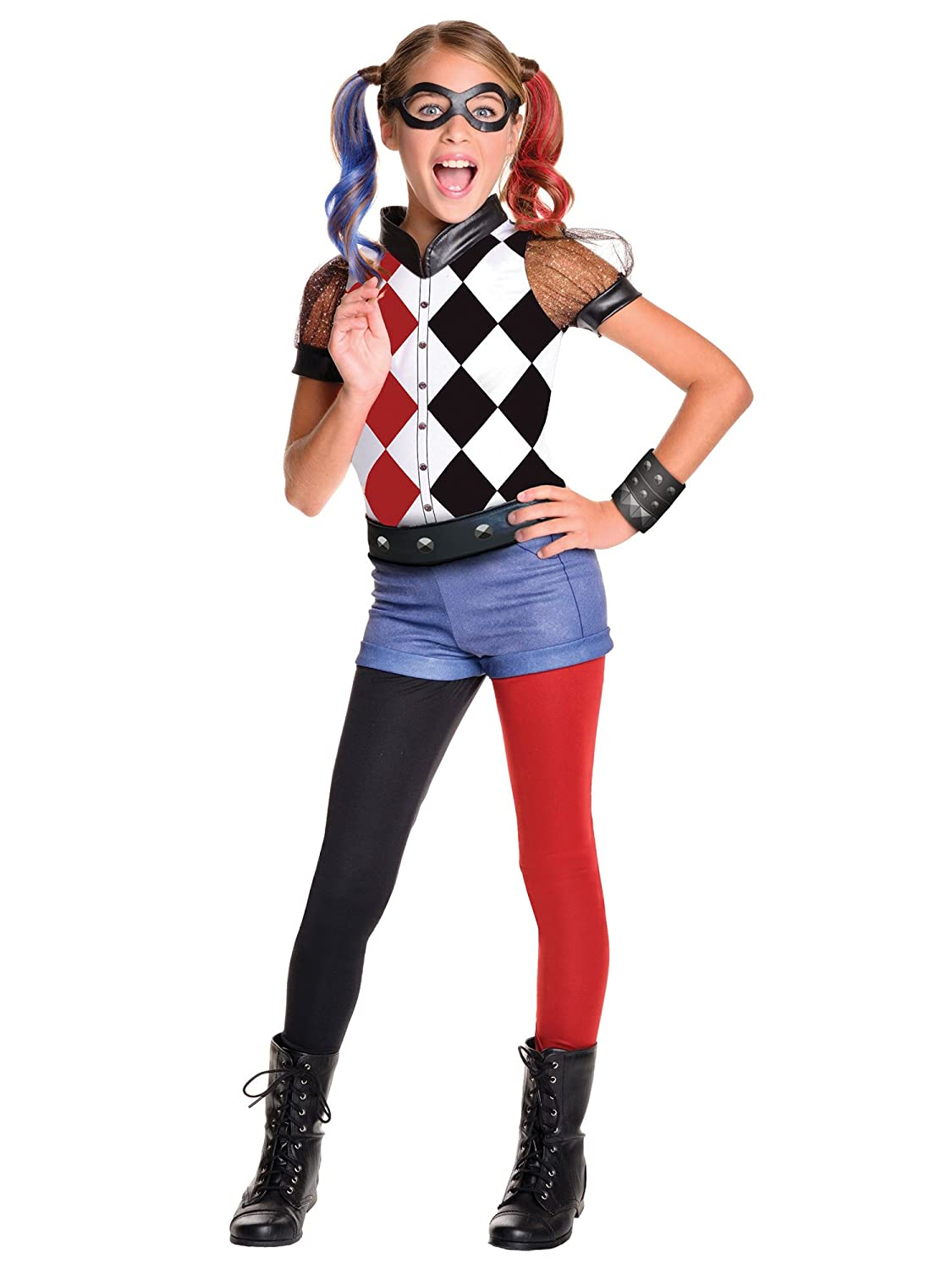 Rubie's DC Superhero Girl's Harley Quinn Costume, Medium Rubie's Costume Co 620712_M
