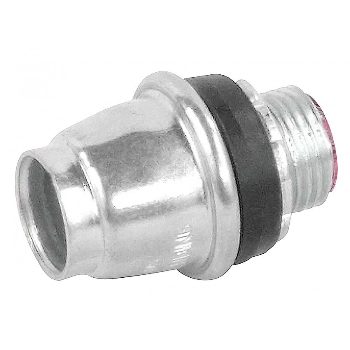 5 Pcs, Snap In Emt Connector, 1-1/2 In., Insulated