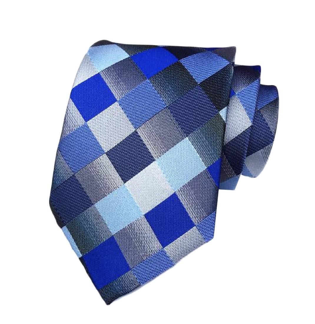 XiaoShop Men's Beautiful More Choice Jacquard Polyester Silk Necktie Tie 15 OS