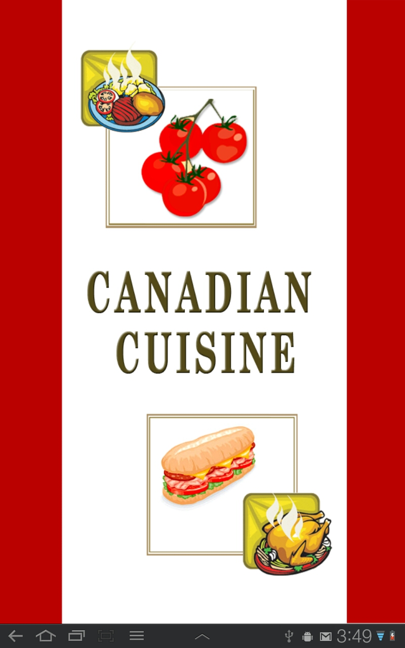 Canadian cuisine pro appstore for android for Four cuisine pro