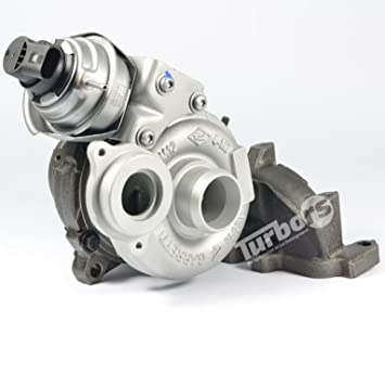 Turbocompresor Garrett VW T5 2.0 Tdi 792290 CAAA caab caac 03l253016 m MV MX: Amazon.es: Coche y moto