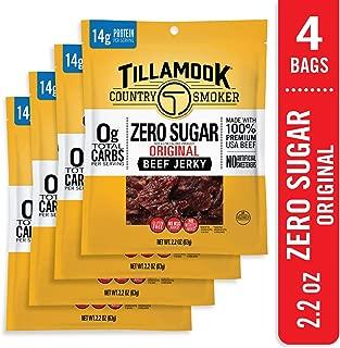product image for Tillamook Zero Sugar Original Keto Friendly Beef Jerky 4 Pack, 8.8 oz