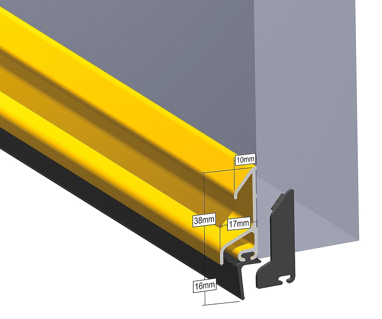 Stormguard 07sr5640914/a 914/mm XRD Deflector de lluvia con junta de goma/ /aluminio