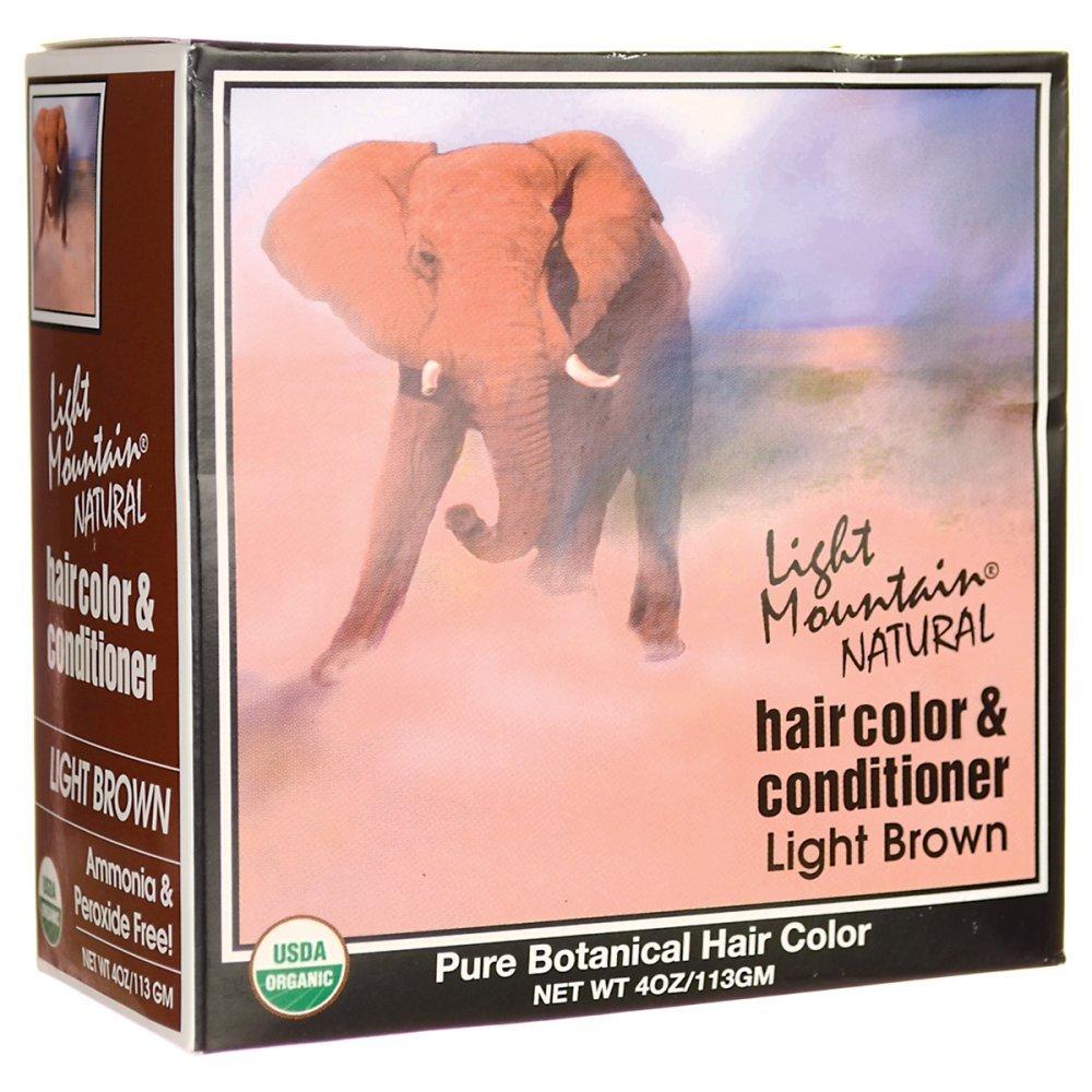 Light Mountain Light Brown Henna 120 ml UNFI - Select Nutrition 187170