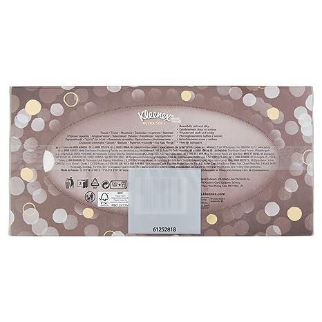 Kleenex - Pañuelos de Papel , Ultrasuaves, 3 paquetes con 2 cajas cada: Amazon.es: Salud y cuidado personal