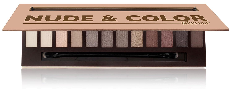 Miss Cop - Palette di trucchi Nude & Color COFMC4256