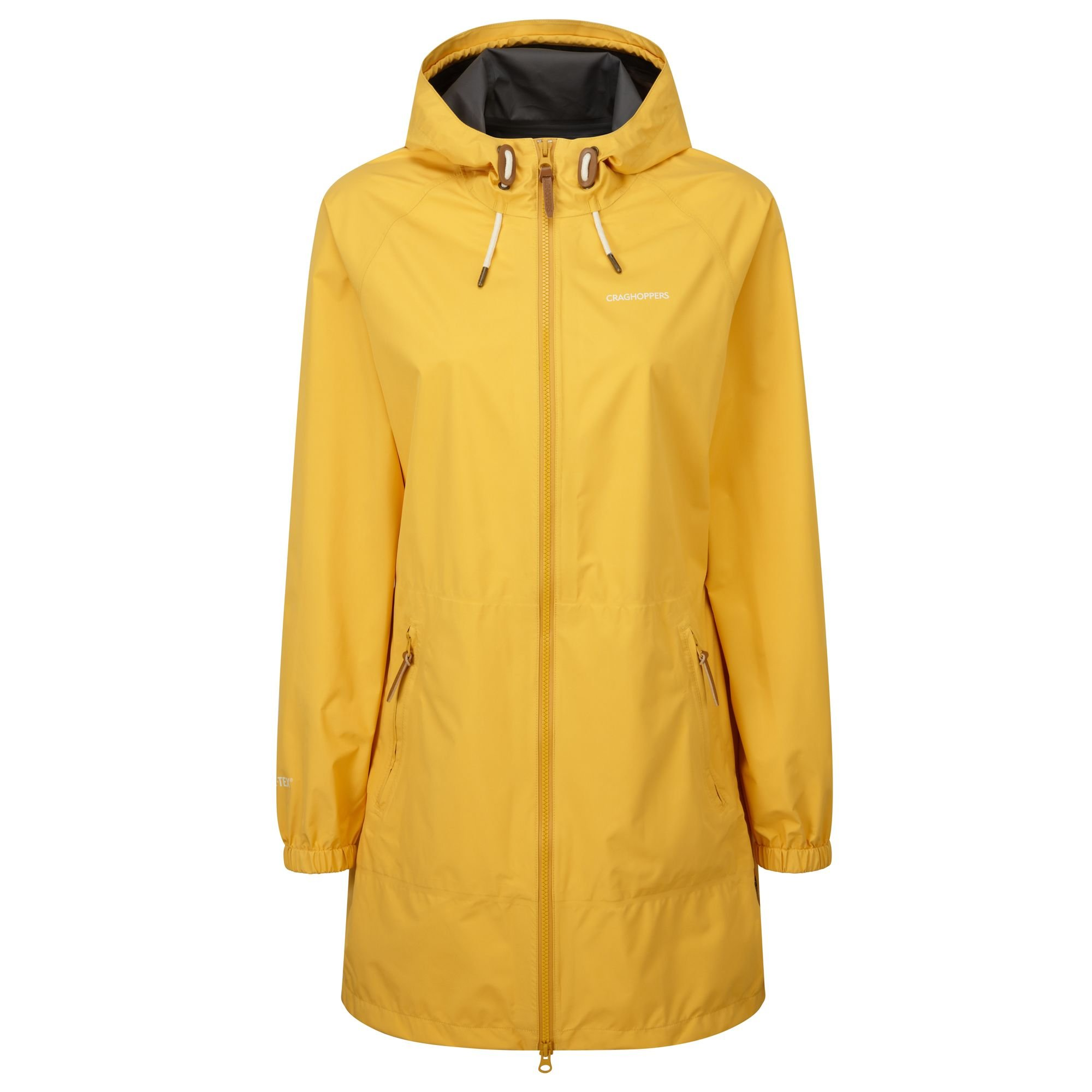 Craghoppers Womens/Ladies Sofia Gore-TEX Paclite Waterproof Jacket (16) (Summer Gold)