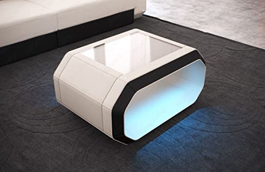 Sofa Dreams Couchtisch Roma Mit Moderner Led Beleuchtung Amazonde