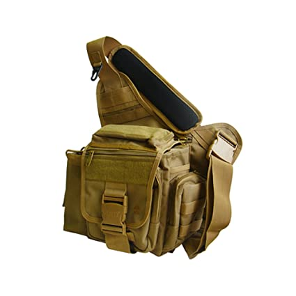 a2aba91efbdd Image Unavailable. Image not available for. Color  UTG Multi-functional  Tactical Messenger Bag ...