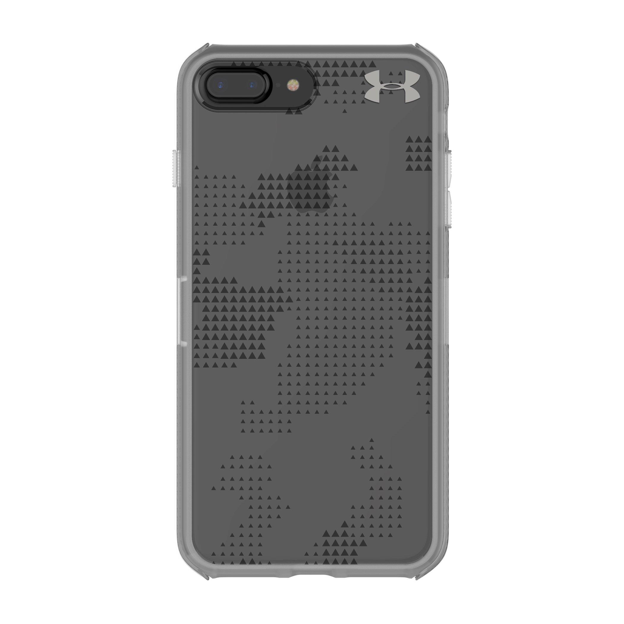 Under Armour UA Protect Verge Case for iPhone 8 Plus & iPhone 7 Plus - Translucent Utility Graphite/Elemental