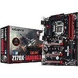 Gigabyte GA-Z170X-Gaming 3-EU Scheda Madre, Nero/Rosso