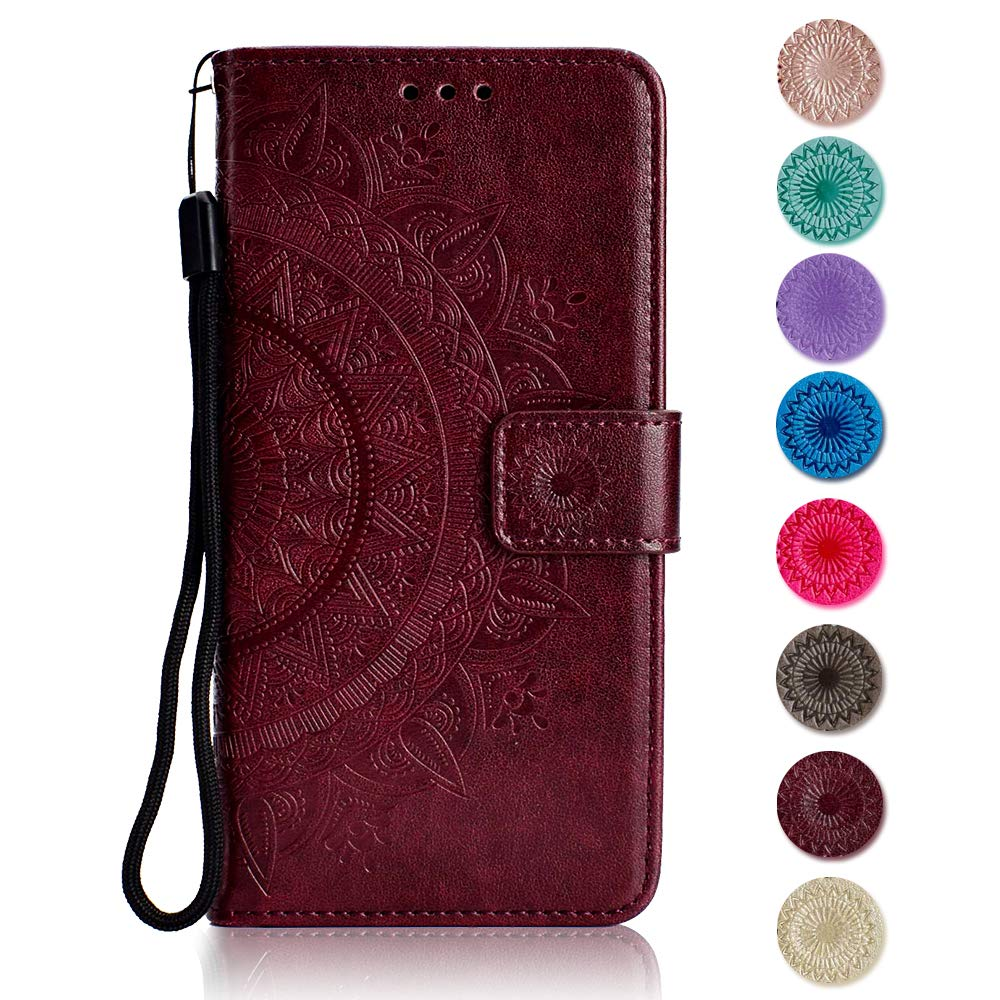 Card Slots Sony Xperia Z5 Case Kickstand Function Brown Flip Notebook Cover for Sony Xperia Z5 The Grafu Leather Case Premium Wallet Case with