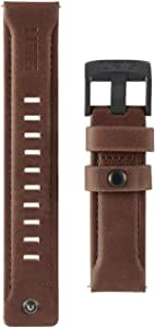 UAG Leather Strap Band for For Samsung Galaxy Watch 46mm / Huawei GT2 / Gear S3 Frontier and Classic / Honor Magic 2 / Fossil - 22mm - Brown
