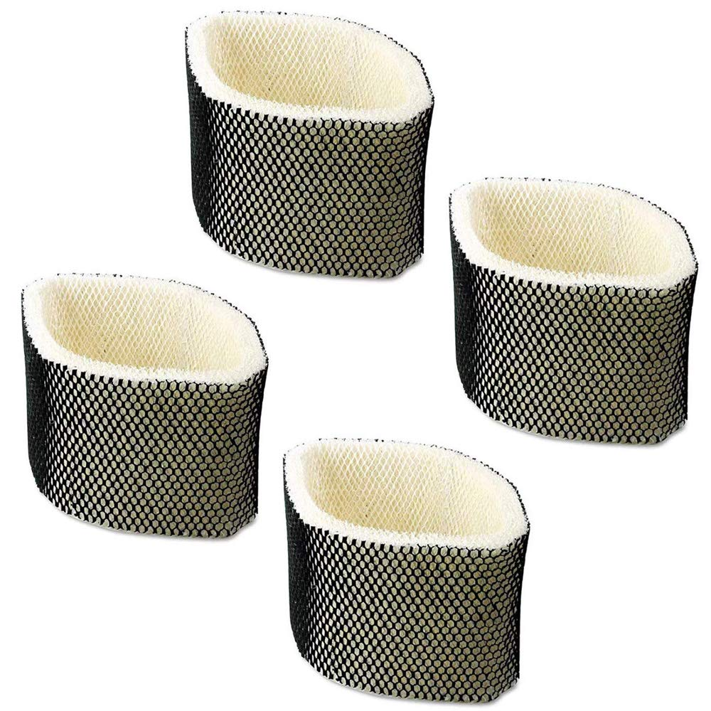 Huiaway Replacement for Holmes HWF75 Humidifier Filter D Also for Holmes HM3500 HM3501 for Sunbeam SCM3501 SCM3502 Replace Humidifier Filter Attachment 4 Pack by Huiaway