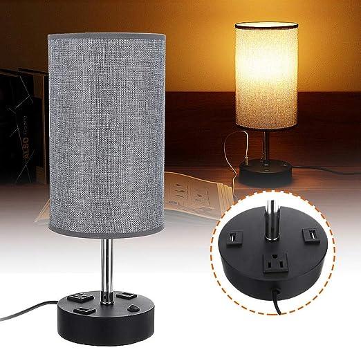 Lámpara De Mesa USB de noche lámpara de mesa Lámparas de leer con ...