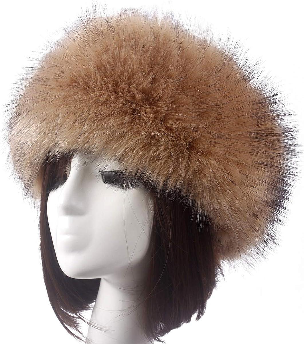 Winter Warm Fluffy Faux Fox...