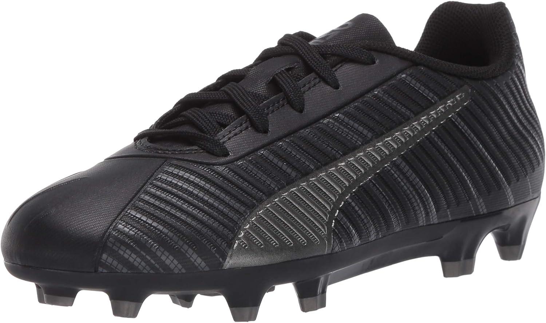 PUMA Men's Future 4.4 Netfit Turf Trainer Soccer-Shoe, Black Black Aged Silver, 7 M US