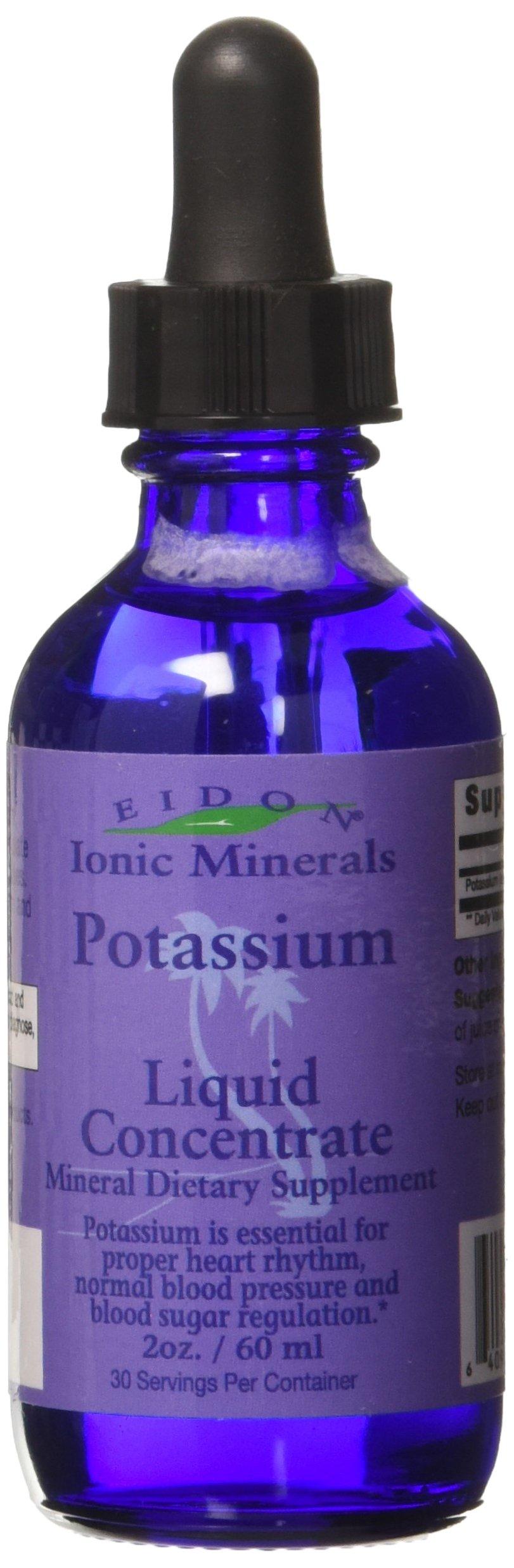 Eidon Potassium Mineral Supplement, 2 Ounce by EIDON