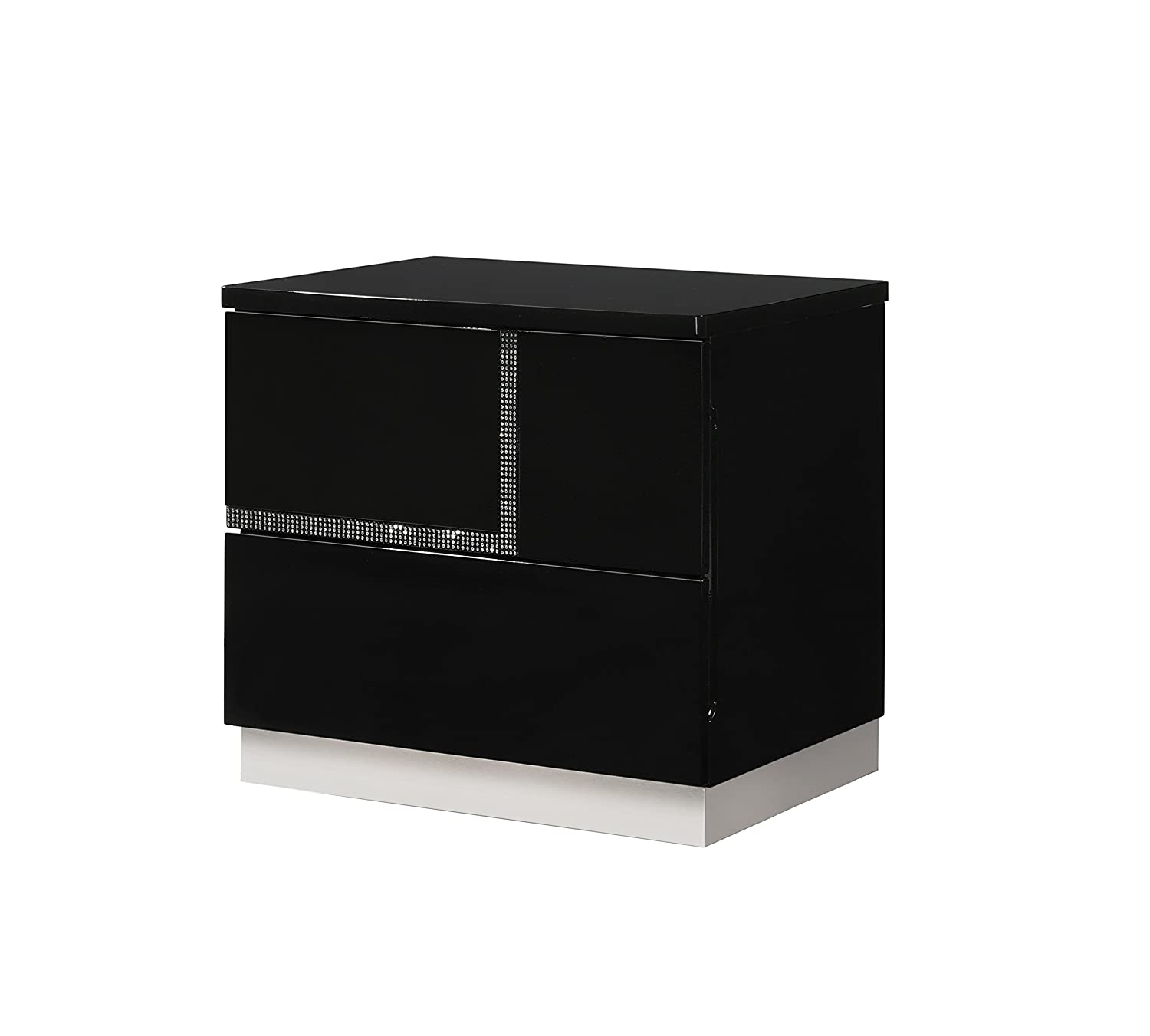 J and M Furniture 17685-NSL Lucca Left Facing Night Stand