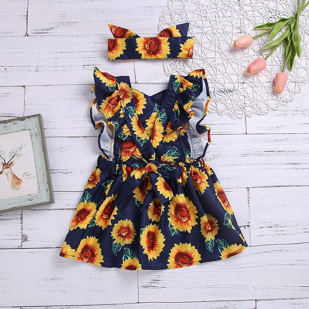 Amazon.com: Hot!! Baby Girls Dresses GoodLock Children Kids ...