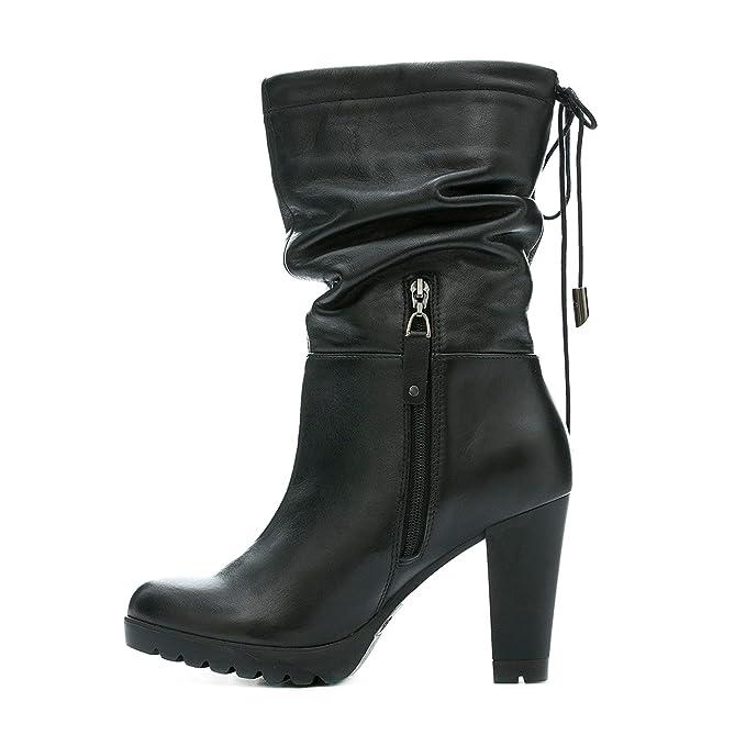 Amazon.com: VELEZ Women Genuine Colombian Leather High Boots | Botas de Cuero Colombianas: Clothing